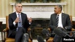 Йенс Столтенберг и Барак Обама