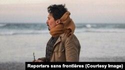 Le photojournaliste franco-marocain, Seif Kousmate expulsé de Mauritanie vers le Maroc, photo publiée le 28 mars 2018. (Reporters sans frontières)