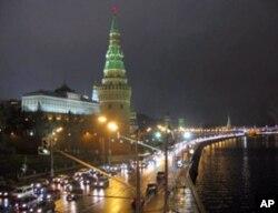 克里姆林宫夜景