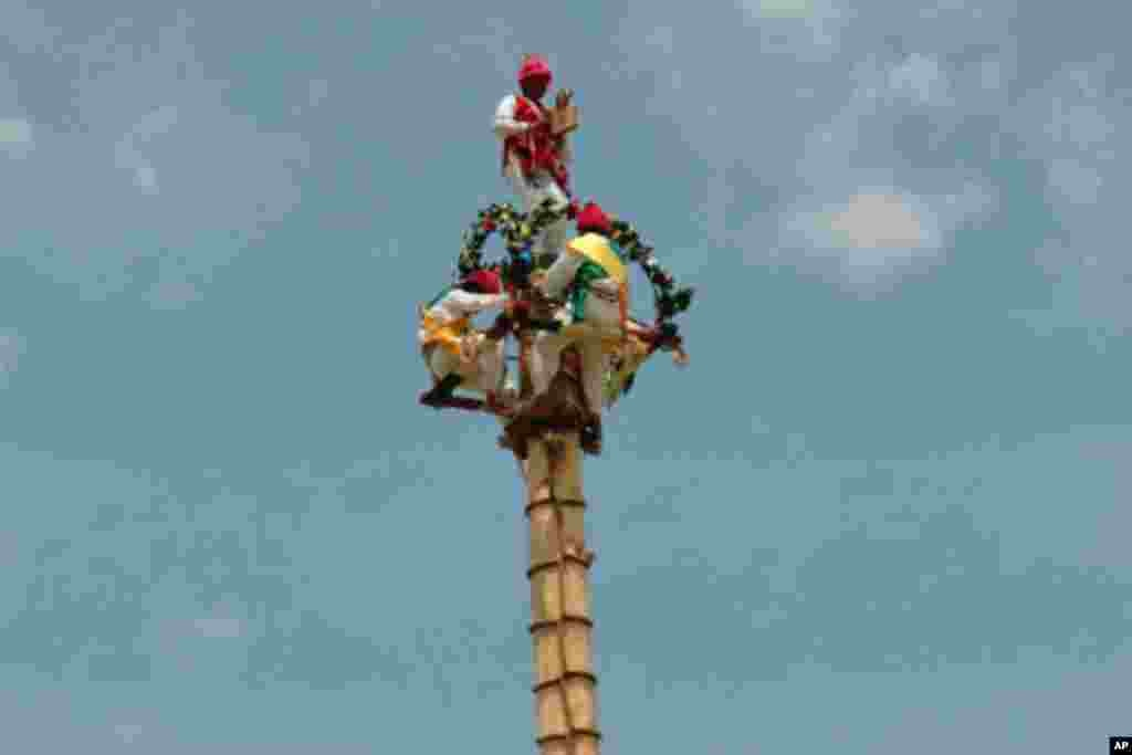 墨西哥農民祈求獲得良好收成的儀式