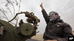 ادارۀ بخش سرحد با تونس توسط قیام کنندگان لیبیا