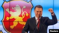 Nikola Gruevski, 12. decembar 2016.
