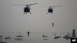 Hải quân Ấn Độ tập trận kỷ niệm Ngày Hải quân trong vùng biển Ả Rập.