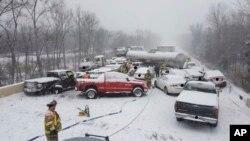 Se estima que pueda haber hasta media pulgada de hielo y que muchas localidades queden sin electricidad.