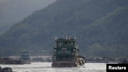 Sông Mekong đoạn gần Tam giác Vàng
