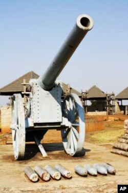 Van Der Merwe's brewery is on top of the Long Tom Pass, named after one of these 'Long Tom' cannons South African Boers used to fight British forces here in 1900