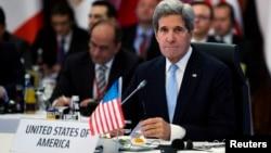Ngoại trưởng Hoa Kỳ John Kerry tại cuộc họp các nước thuộc nhóm 'Bằng hữu của Syria'