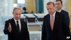 ملاقات اردوغان با پوتین صرف دومین دیدار با یک مقام خارجی پس از کودتای نافرجام اخیر در ترکیه است