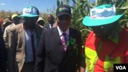 General Constantino Chiwenga and other Zanu PF officials in Mashonaland West province on Sunday.