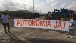 Comitiva de PM cabo-verdiano bloqueada por manifestantes que exigem a regionalização