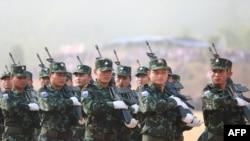 KNU တပ္ဖြဲ႔ဝင္မ်ား (ဓာတ္ပံု-AFP)