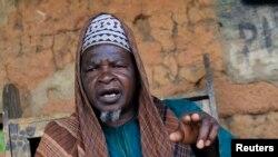 Shugaban Fulani makiyaya Haruna Usman.