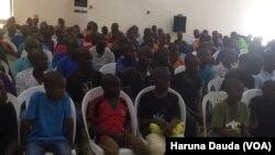 Yaran da sojojin Nigeria suka ceto daga hannun Boko Haram
