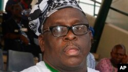 Le sénateur Buruji Kashamu (Archives AP photos - 12 octobre 2014)