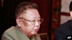 올해 8월 러시아 방문당시 김정일 위원장