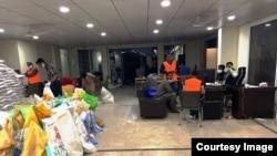 سیالکوٹ چیمبر آف کامرس میں ریلیف ورک جاری ہے