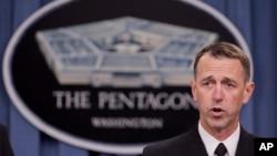 即將接任海軍作戰部長的理查森上將資料照。