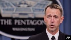 Đô đốc John Richardson của hải quân Mỹ nói quân đội Mỹ trông thấy hoạt động của Trung Quốc xung quanh bãi cạn Scarborough ở phía Bắc quần đảo Trường Sa.