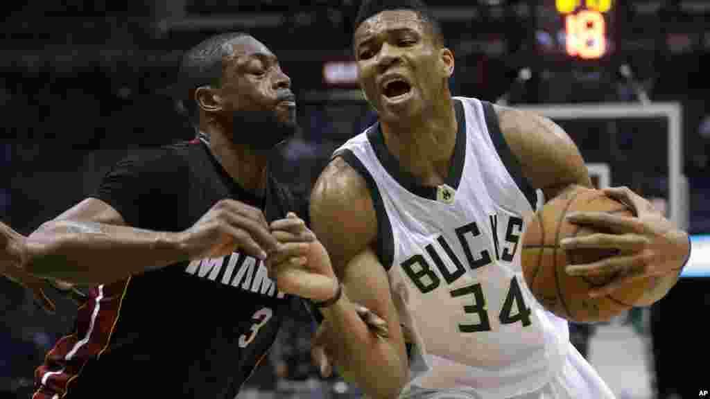 Le Miami Heat a eu la mauvaise surprise de s'incliner mercredi soir chez les Milwaukee Bucks sur un score de 114 à 108.