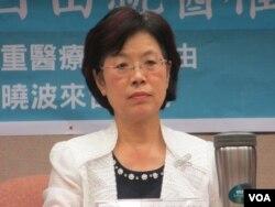台湾执政党民进党立委尤美女