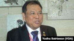 Ketua Mahkamah Konstitusi Indonesia Arief Hidayat (foto dok. VOA/Yudha Satriawan).