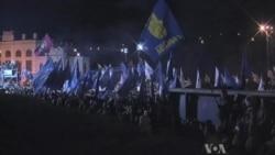 Ukraine Protests Continue As Russia Denies Anti-EU Pressure