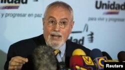 Ramon Guillermo Aveledo, secretario ejecutivo de la Mesa de la Unidad Democrática.