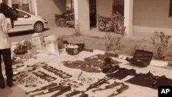 Hotunan wani wurin da kungiyar Boko Haram ke harhada boma bomai a Mariri Quarters dake karamar hukumar Kumbotso, jihar Kano