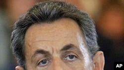 French President Nicolas Sarkozy (file photo)