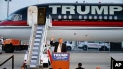 ترامپ تنها نامزد باقی مانده در رقابت های انتخاباتی جمهوری خواهان است.