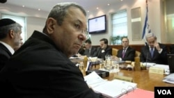 Menteri Pertahanan Israel, Ehud Barak