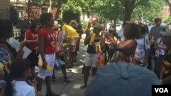 Zvimwe Zvizvarwa zveZimbabwe zvakaungana pamuzinda wenyika uri muWashington DC.