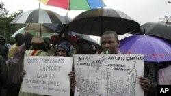 Антиисламистские протесты в Мали