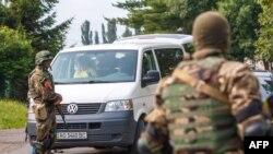 2015年7月14日乌克兰安全部队巡逻