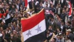 نیروهای امنیتی سوریه معترضین را زیر آتش می گیرند