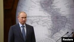 Prezida w'Uburusiya, Vladimir Putin