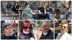 Beograd: Kafica uz dezinficijens za ruke