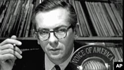 VOA's Jazz show host, Willis Conover (file photo)