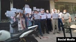 تجمعات اعتراضی بازنشستگان و مستمری بگیران صندوق فولاد