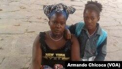 Vendedeira e mãe, Namibe