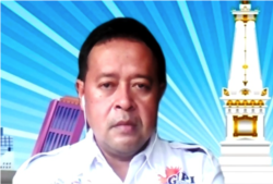 Ketua GIPI DIY, Bobby Ardyanto Setya Aji dalam tangkapan layar. (Foto: VOA/Nurhadi)