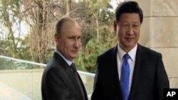 俄羅斯總統普京和習近平