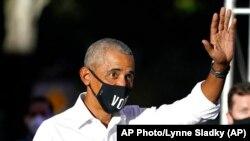 资料照:美国前总统奥巴马