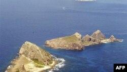 Dãy đảo có tranh chấp mà Nhật Bản gọi là Senkaku, còn Trung Quốc gọi là Điếu Ngư