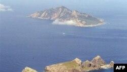 Nhóm đảo tranh chấp, Nhật Bản gọi là Senkaku và Trung Quốc gọi là Điếu Ngư