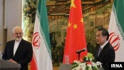 وزرای خارجه ایران و چین