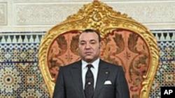 Le roi Mohammed VI dans son palais à Rabat en mars 2011