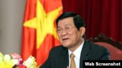 Vyetnam Prezidenti Çıonq Tan Şanq