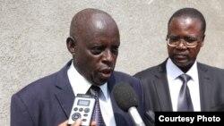 Therence Mushano, umunyamabanga ntayegayezwa w'ishirahmwe AC Genocide Cirimoso, rigwanya ihonyabwoko