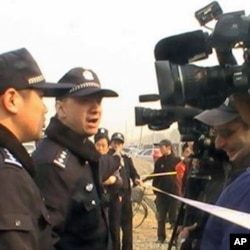 海外媒体现场采访拍摄
